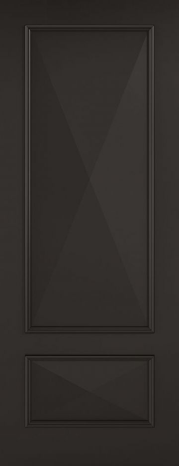Black Knightsbridge Fire Door (2P)